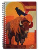 Fur And Feathers Spiral Notebook