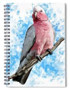 G Is For Galah Spiral Notebook