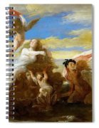 Galatea And Polyphemus  Spiral Notebook
