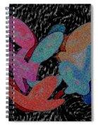 Galaxies Merging Spiral Notebook