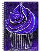 Galactic Universe Cupcake Spiral Notebook