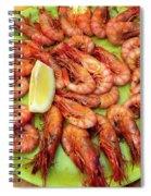 Gambas A La Plancha Spiral Notebook
