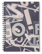 Game Of Golf Spiral Notebook