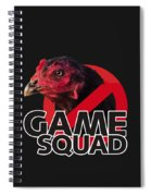 Game Squad Spiral Notebook