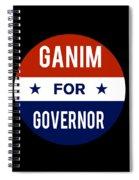 Ganim For Governor 2018 Spiral Notebook