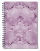 Garden Of Big Paradise Flowers Ornate Spiral Notebook