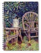 Garden Retreat Spiral Notebook