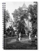 Garden Sculpture Spiral Notebook
