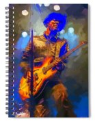 Gary Clark Jr Spiral Notebook