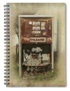 Gas Pump - Everett Corner Store Spiral Notebook