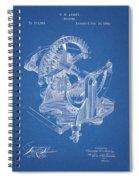 Gear Patent Design Spiral Notebook