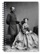 General Custer And His Wife Libbie Spiral Notebook