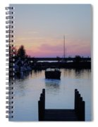 Calm Sunset Finish Spiral Notebook