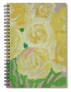 Gentle Yellow Bouquet Spiral Notebook