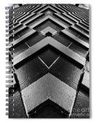 Geometric Night  Spiral Notebook