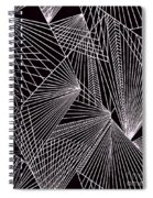 Geometric Pattern 1-colour-5 Spiral Notebook