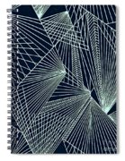 Geometric Pattern 1-colour-6 Spiral Notebook