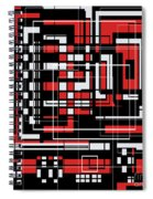 Geometric Stylization 2 Spiral Notebook
