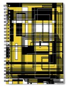 Geometric Stylization 3 Spiral Notebook