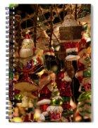 German Christmas Ornaments Spiral Notebook