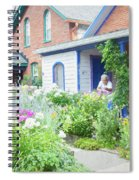 Getting Ready For Buffalo's Garden Walk 2019 Spiral Notebook