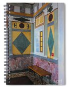 Getty Center Interior Malibu California  Spiral Notebook
