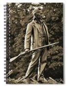 Gettysburg Battlefield - John Burns Spiral Notebook
