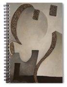 Ghost Of A Machine Spiral Notebook