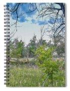 Ghost Town Kansas Spiral Notebook