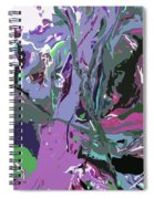 Ghosting Spiral Notebook