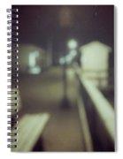 ghosts IV Spiral Notebook