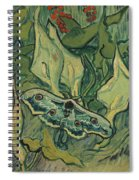 Giant Peacock Moth Spiral Notebook