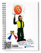 Gilets Jaunes Et Btc Spiral Notebook