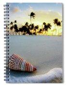 Gili Shell Spiral Notebook