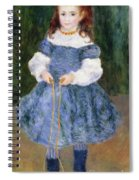 Girl With Jumping Rope, 1876 Spiral Notebook