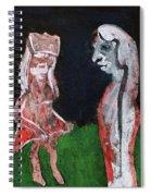 Girls In A Park Spiral Notebook