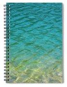 Glacial Depths Spiral Notebook