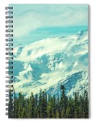 Glacier View Spiral Notebook