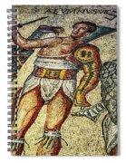 Gladiator Spiral Notebook