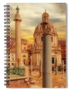 Glories Past And Present,  Rome Spiral Notebook
