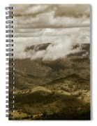 Glorious Cloud Cover Spiral Notebook
