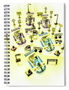 Go-kart Art Spiral Notebook