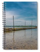 Goat Island Shore Gorgeous Happy Day Spiral Notebook