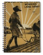 God Speed The Plough And The Woman Who Drives It Spiral Notebook