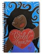 Goddess Of Wild Hearts Spiral Notebook