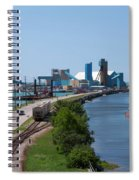 Goderich Harbour And Maitland Valley Marina Spiral Notebook