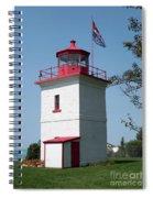 Goderich Lighthouse Spiral Notebook