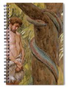 Gods Curse, Adam And Eve Spiral Notebook