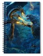 Godzilla II Rei Dos Monstros Spiral Notebook