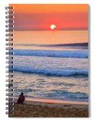 Gold Cup Sunset Spiral Notebook
